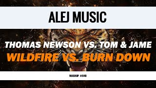 (MASHUP #049) Thomas Newson vs. Tom & Jame - Wildfire vs. Burn Down