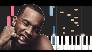 Tory Lanez - Shooters (Piano Tutorial/Recreation)