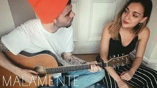 Malamente - Rosalia (cover by Sofía y Ander)