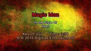 Heart - Magic Man (Backing Track)