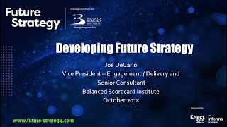 Developing Future Strategy