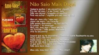 """Não Saio Mais Daqui [Fernanda Brum] CD """"Amo Você - Volume 17"""" 2011 - HD COMLetra"""