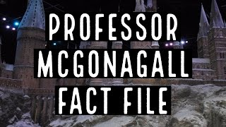 Professor McGonagall Fact File   5 Facts About Professor McGonagall