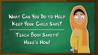 Body Safety for Adults: Empower your child with body safety knowledge