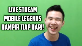 JESS NO LIMIT BAKAL LIVE STREAM MOBILE LEGENDS HAMPIR SETIAP HARI!