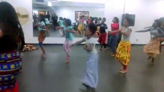 Sankofa Faré Community Children's African Dance Class
