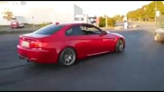 BMW M3 Rod Bearing Failure During Burnout Doughnut Session
