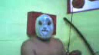 Negro enmascarado de plata
