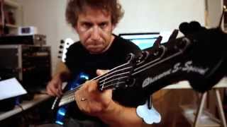 Robert Palmer - Bad Case of Loving You (Doctor Doctor) - BASS COVER with Alusonic S-Special