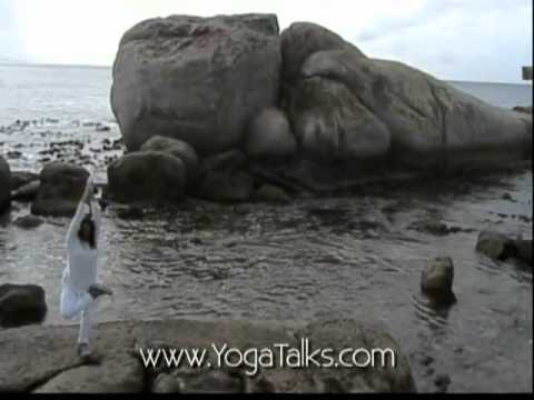 """Julie Carmen"" ERYT-500 – ""YOGA SLOW FLOW"" DVD (African safari location shoot)"