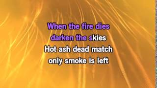Sia - Fire Meet Gasoline (Karaoke With backing vocals)