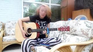 Hey Baby, Heres That Song You Wanted - Blessthefall - Female Acoustic Cover - Rebbekah Lawes
