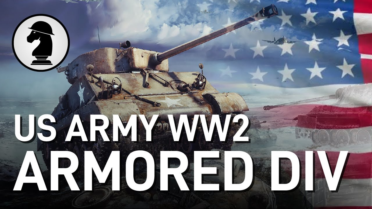 Combined Arms: US Army Tank Unit Tactics (WW2)