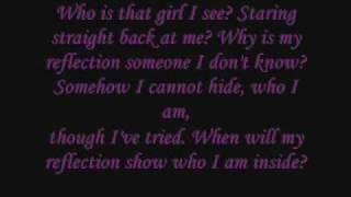 Lyrics - Reflection (Mulan)