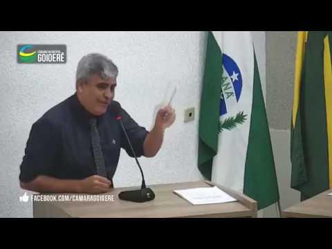 Vereador Joaquim na tribuna da sessão desta terça-feira, 29