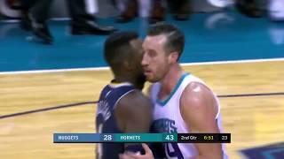 Denver Nuggets vs Charlotte Hornets: October 25, 2017