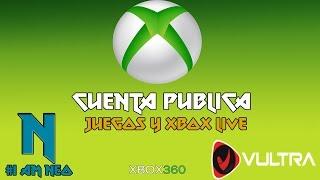 Cuenta XBOX 360/ XBOX LIVE /Juegos Gratis/ 2017 #1