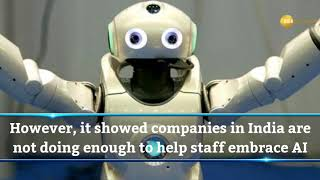 Unbelievable! Employees ready to take instructions from robots