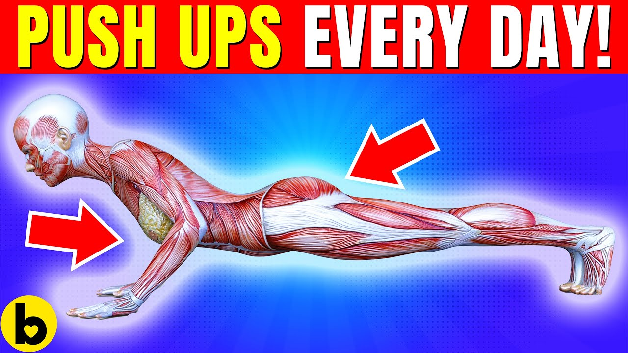 Do Push Ups Everyday and see what happens to your Body