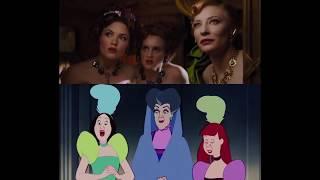 Cinderella (2015)&Cinderella Cotton (1950)