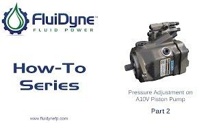 Testing A10V Piston Pump - Part 2