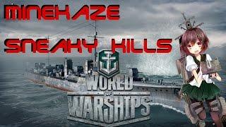 World of Warships: Sneaky Kills with Minekaze