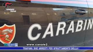 TRAPANI: SFRUTTAMENTO DELLA PROSTITUZIONE.  2 ARRESTI DEI CARABINIERI