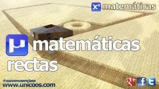 Imagen en miniatura para Ecuación de la recta en R²