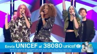 "Sweet California y su ""Good Life"" en Gala UNICEF 2016"