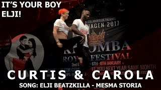 Elji - Mesma Storia | Curtis & Carola Urbankiz Dance @ Copenhagen Kizomba Festival 2017