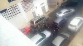 Momento de la detención de la presunta asesina del niño Gabriel Cruz