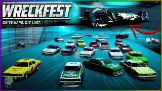 PITFAULT BLOWOUT! [MOST MANGLED CAR EVER!] | Wreckfest