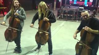 "Apocalyptica Meet and Greet ""The Unforgiven"""