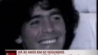 Barcelona contrata Diego Maradona (Rede Globo, 1982)