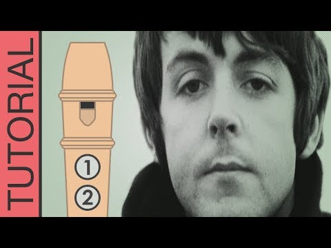 Comment jouer Let It Be à la flûte (Beatles)