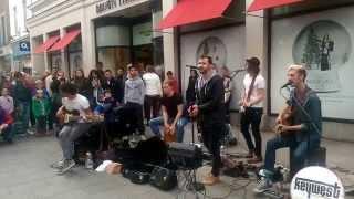 "Keywest live Grafton Street Dublin ""Borrowed Time"""