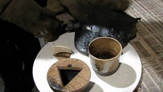 Raku Japanese Ceramics Firing Live Part 2