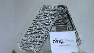 Rhinestone Bling Jewel Diamond Crystal Case Cover for Samsung Instinct M800 by Bling Cases.com