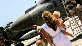 BEAUTIFUL REUNION VIDEO - Daddy's Homecoming 2011!