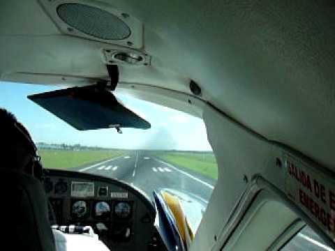 Landing at Managua