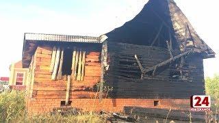 В Михайловке загорелся строящийся дом