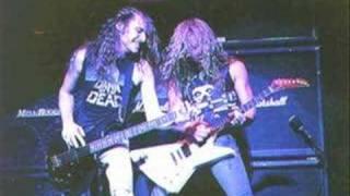 Kirk Hammett guitar solo in memory of Cliff Burton