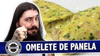 Omelete de Panela