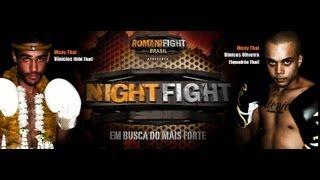 Night Fight II - Vinicius (Gibi Thai) vs Vinicius Oliveira (Squadrão Thai) Highlights MUAY THAI