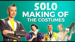 SOLO Making of | The Costumers - with Arturo Brachetti