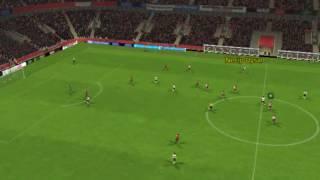 Feyenoord ile Be_ikta_ - Gol Necip Uysal 89 dakika