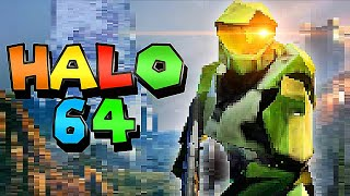 Fan video reimagines Halo Infinite as an N64 game
