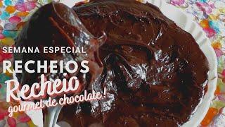 RECHEIO GOURMET DE CHOCOLATE - ESPECIAL RECHEIOS