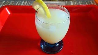 La vraie recette de la citronnade à domicile