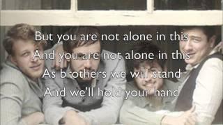"""Timshel"" - Mumford & Sons (Official Lyrics)"